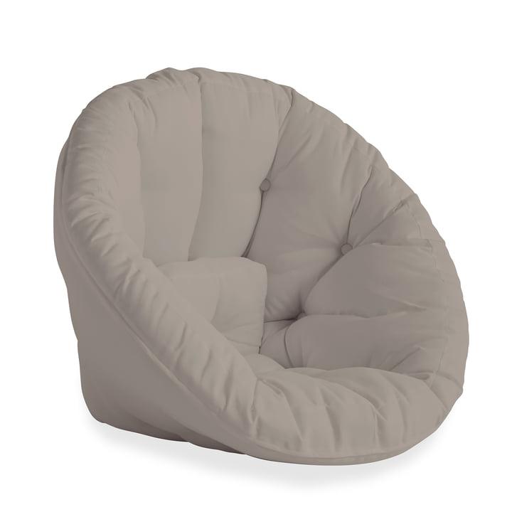 Der Nido OUT Futon-Sessel von Karup Design, Beige