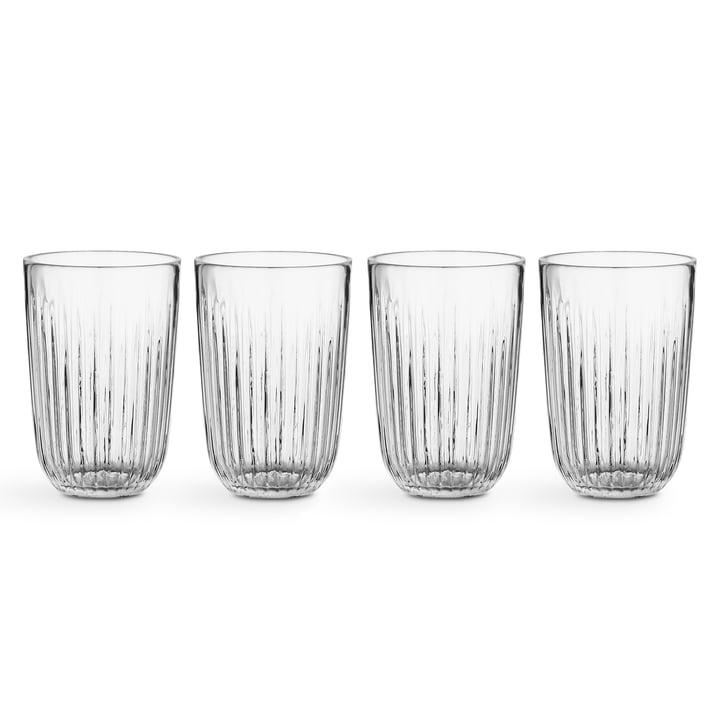 Hammershøi Trinkglas 33 cl von Kähler Design in klar (4er Set)