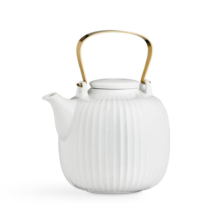 Hammershøi Teekanne 1,2 l von Kähler Design in weiß