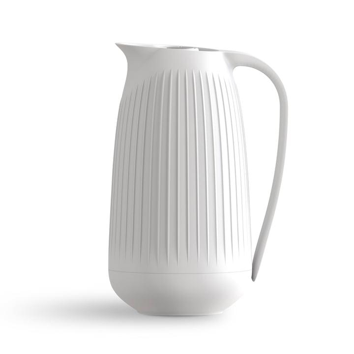 Hammershøi Isolierkanne 1 l von Kähler Design in weiß