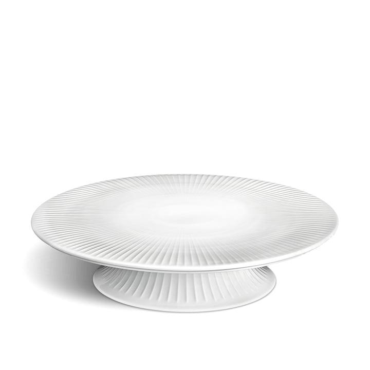 Hammershøi Kuchenplatte Ø 30 cm von Kähler Design in weiß