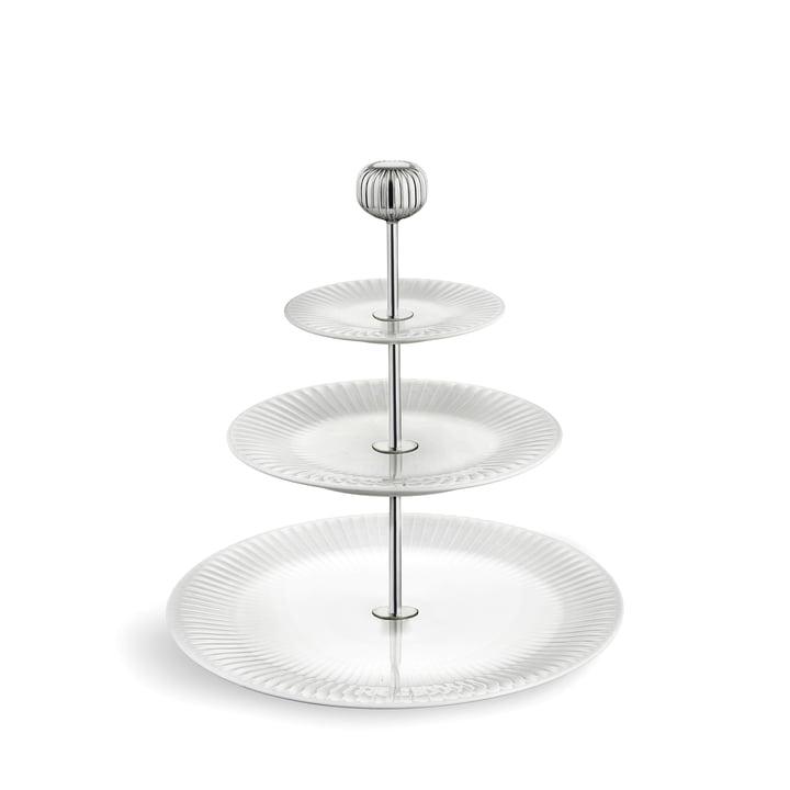 Hammershøi Etagere Ø 28 cm von Kähler Design in weiß