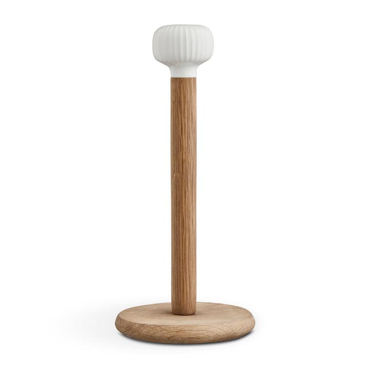 Hammershøi Küchenrollenhalter von Kähler Design in Eiche / weiß