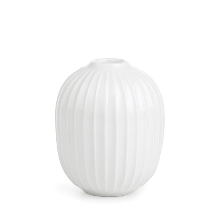 Hammershøi Kerzenständer Ø 8,5 x H 10 cm von Kähler Design in weiß