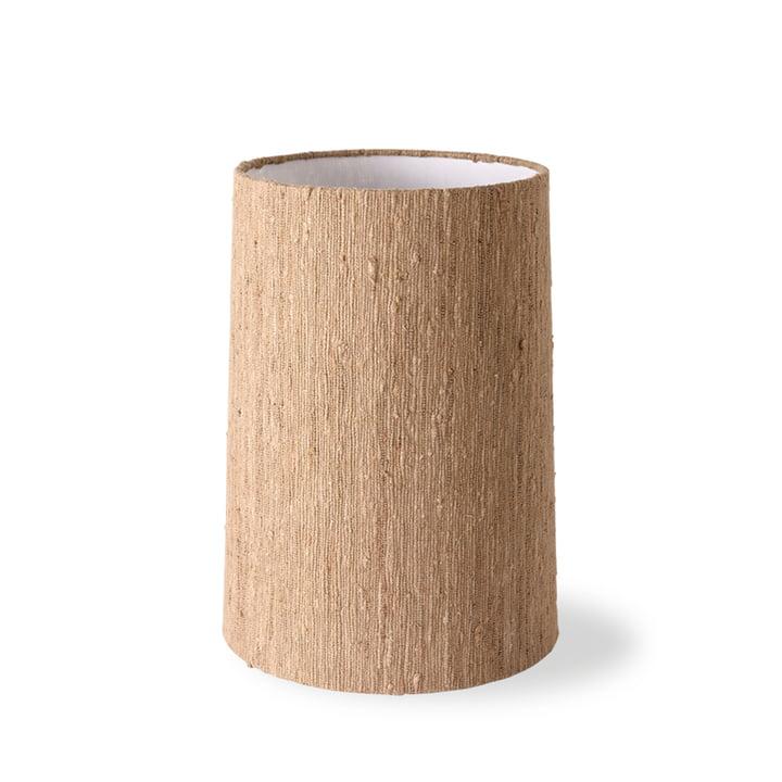 Der Tischleuchtenschirm Seide von HKLiving, Ø 38 cm, braun