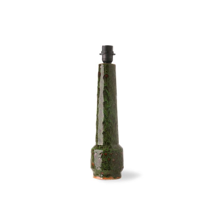 Der Retro Tischleuchtenfuß von HKLiving, H 45 cm, lava green