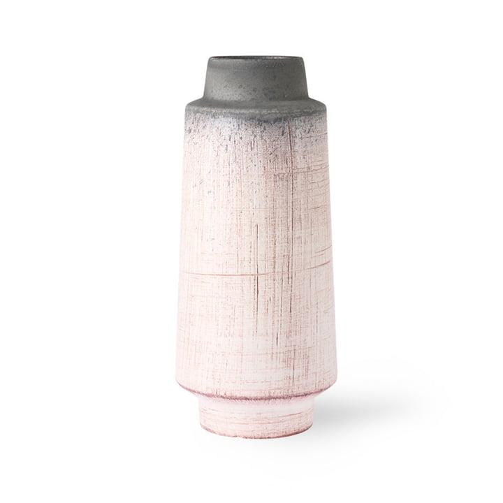 Die Keramikvase von HKliving, rosa / grau