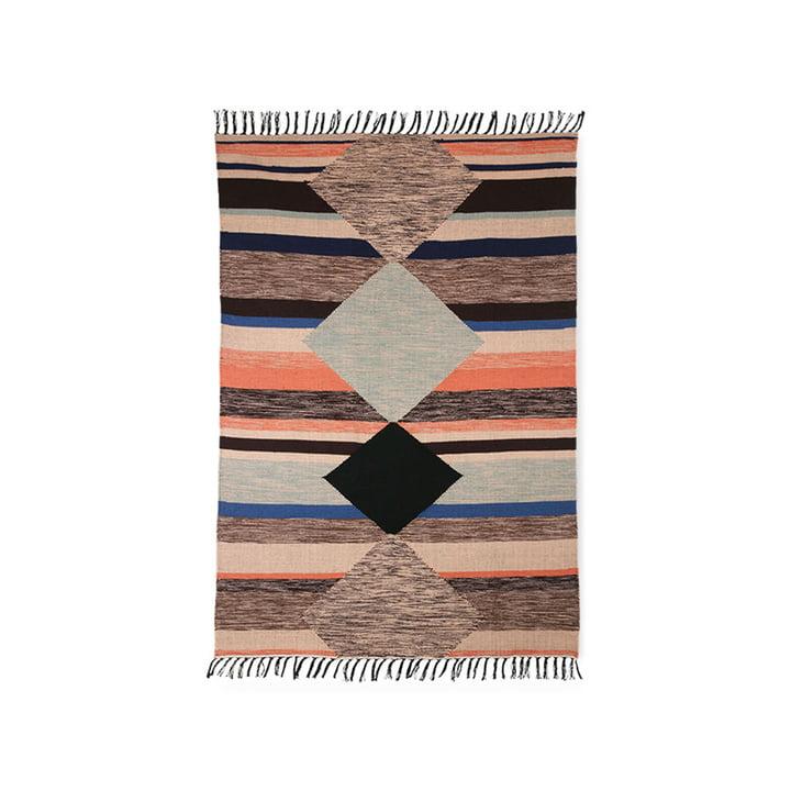Der bunte Handgewebter Indoor/Outdoor Teppich von HKliving, 120 x 180 cm
