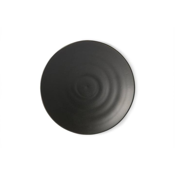 Der Kyoto Dessert-Teller von HKliving, Ø 16 cm, matt schwarz