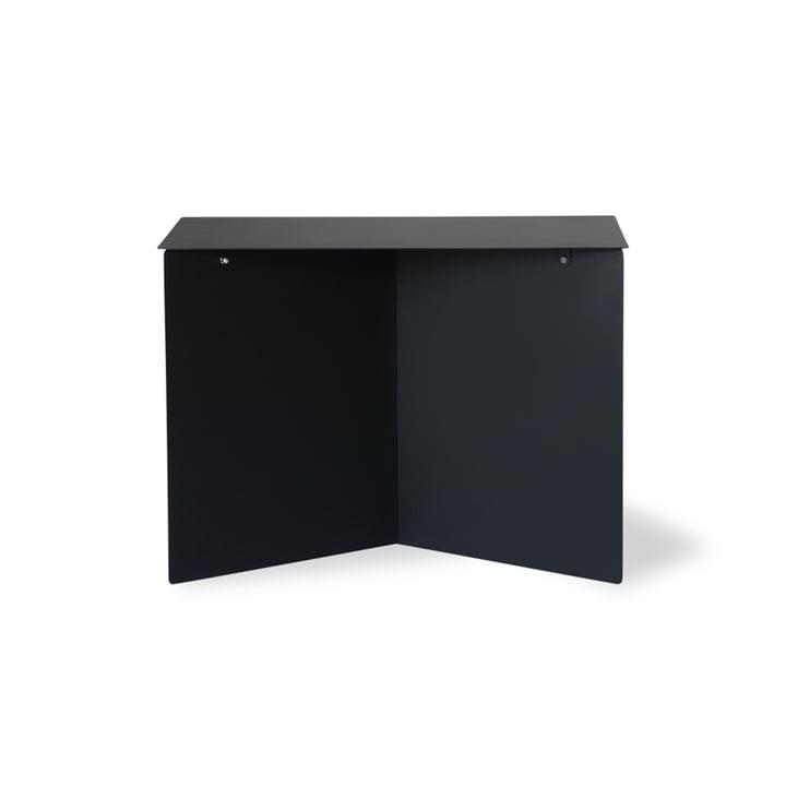Der Metall Beistelltisch rechteckig von HKliving, 55 x 36 cm, schwarz