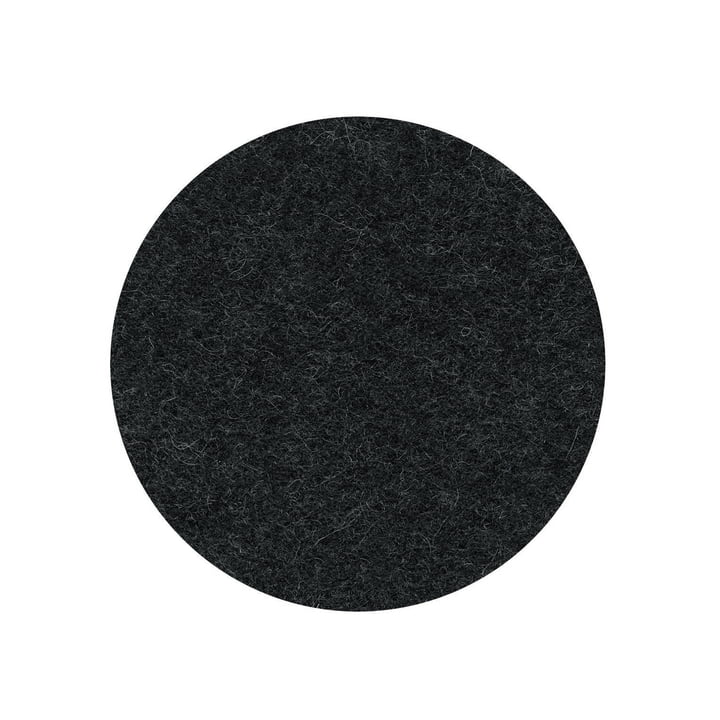 Die Filzauflage für den Occo Barstuhl von Wilkhahn , graphit