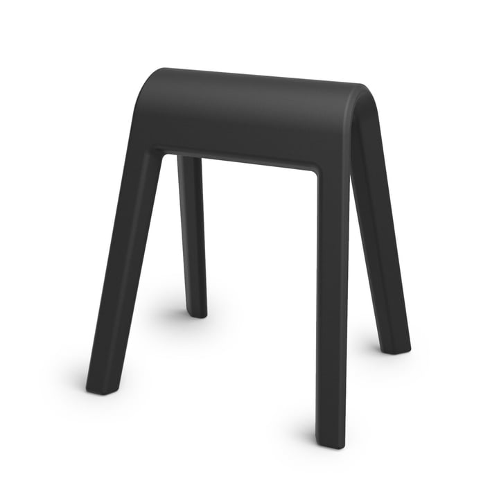 Der Sitzbock von Wilkhahn, schwarz