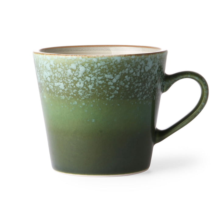 Die 70's Cappuccino Tasse von HKliving, grass