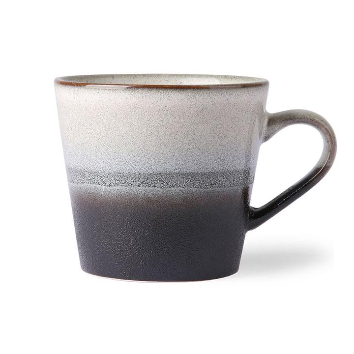 Die 70's Cappuccino Tasse von HKliving, rock
