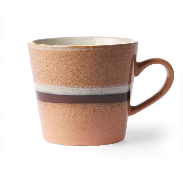 Die  70's Cappuccino Tasse von HKliving, stream