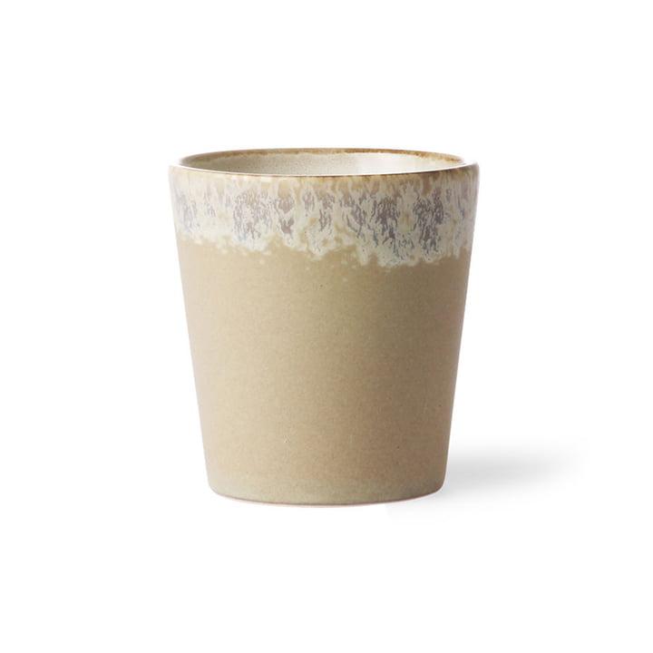 Der 70's Kaffeebecher von HKliving, bark
