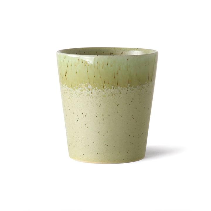Der 70's Kaffeebecher von HKliving, pistachio