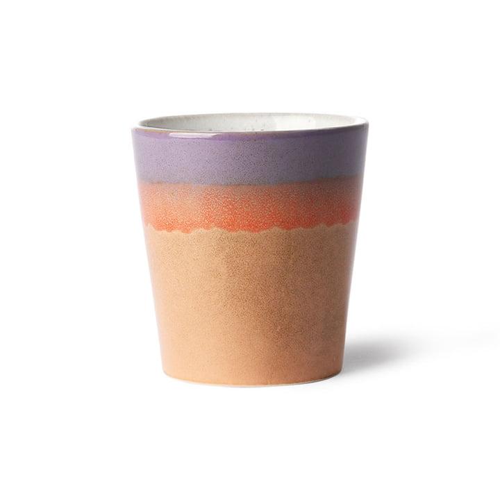Der 70's Kaffeebecher von HKliving, sunset