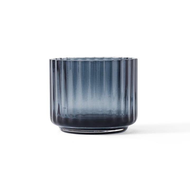 Teelichthalter Ø 6,7 cm von Lyngby Porcelæn in midnight blue