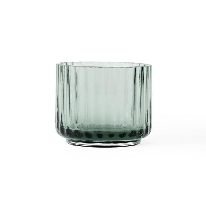 Teelichthalter Ø 6,7 cm von Lyngby Porcelæn in grün