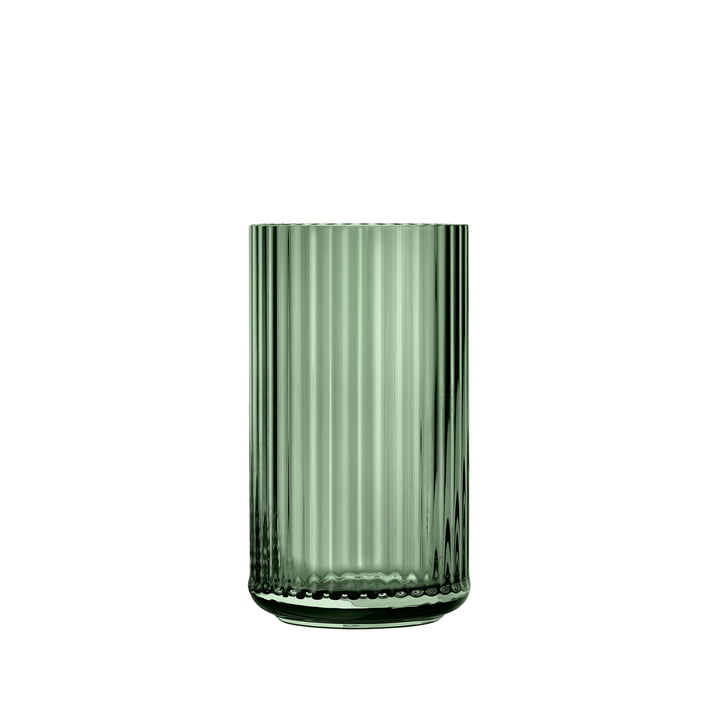 Glasvase H 12,5 cm von Lyngby Porcelæn in grün