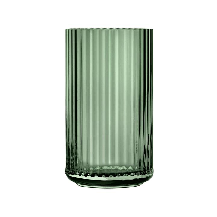 Glasvase H 25 cm von Lyngby Porcelæn in grün
