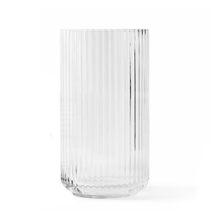 Glasvase H 31 cm von Lyngby Porcelæn in transparent