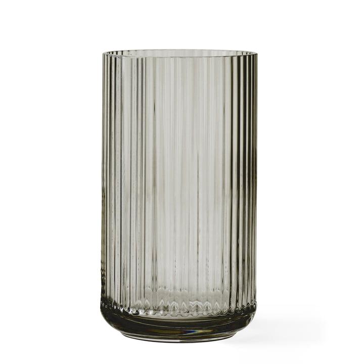 Glasvase H 31 cm von Lyngby Porcelæn in smoke