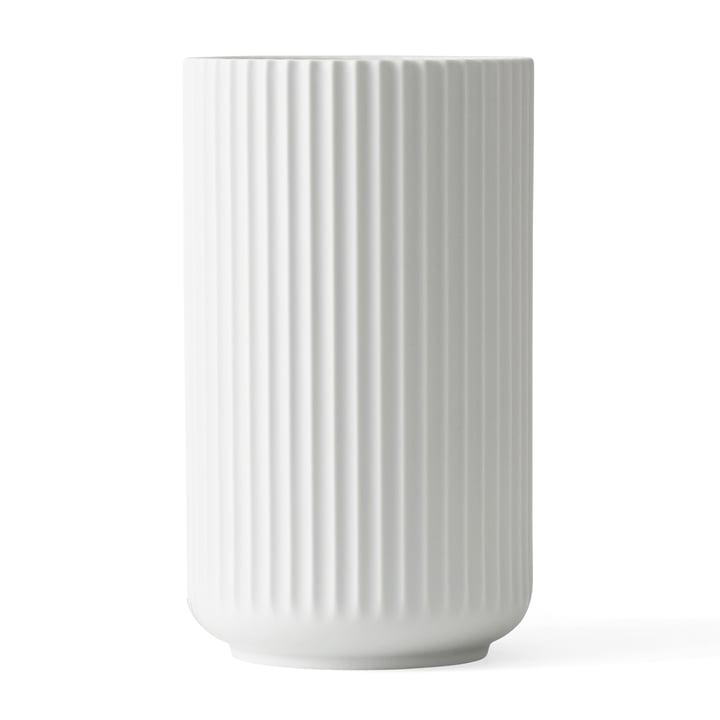 Lyngbyvase von Lyngby Porcelæn  in weiß, H 31 cm