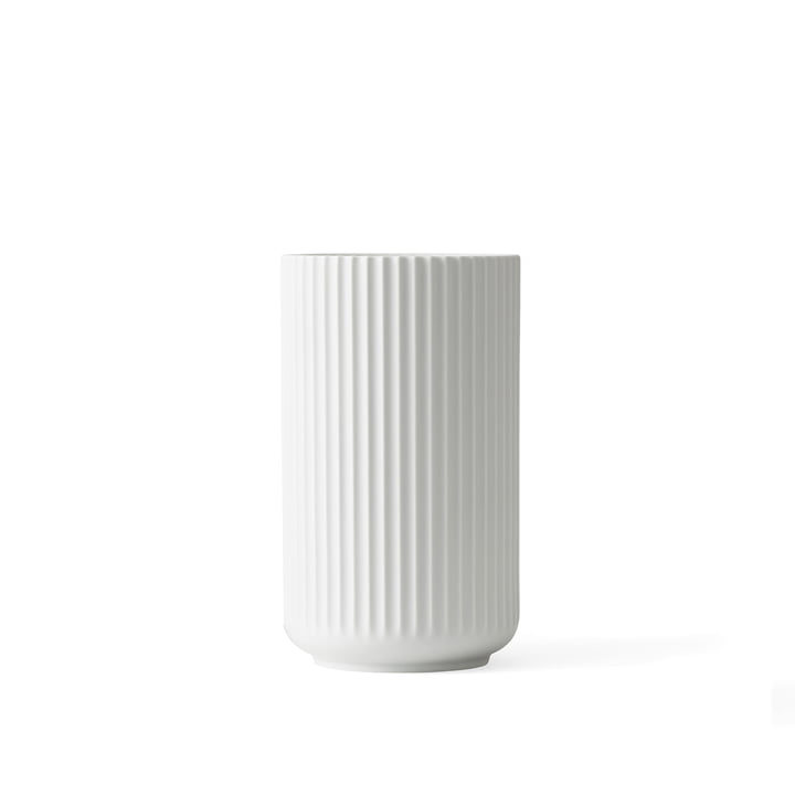 Lyngbyvase H 10,5 cm von Lyngby Porcelæn in weiß