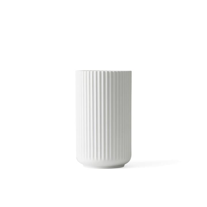 Lyngbyvase H 8,5 cm von Lyngby Porcelæn in weiß