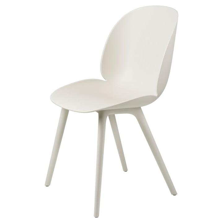 Beetle Dining Stuhl Outdoor von Gubi in alabaster white