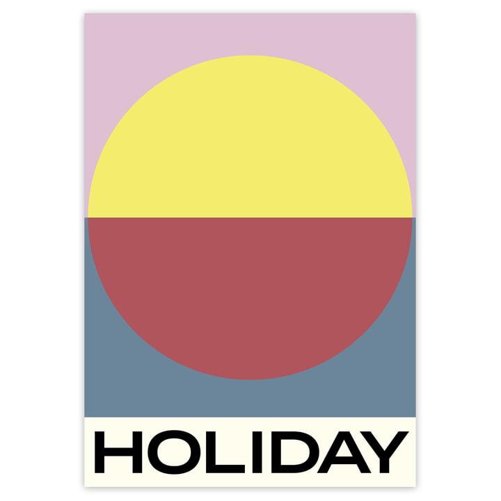 Das Holiday Poster von artvoll ohne Rahmen