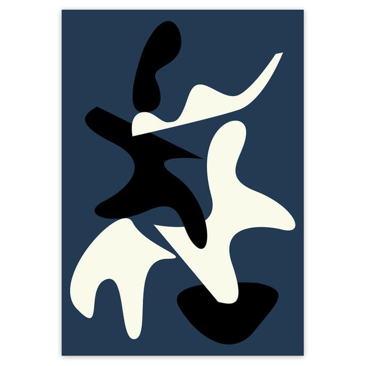Das Abstract Shapes 2 Poster von artvoll ohne Rahmen