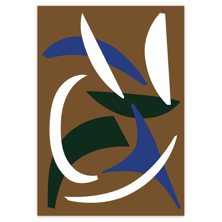 Das Abstract Shapes 1 Poster von artvoll ohne Rahmen