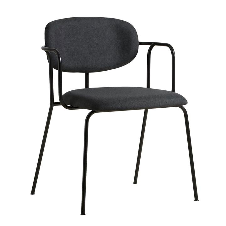 Frame Stuhl von Woud in schwarz / dunkelgrau