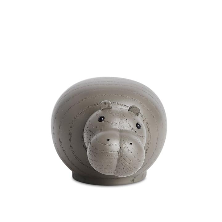Hibo Nilpferd Small von Woud in Eiche taupe lackiert