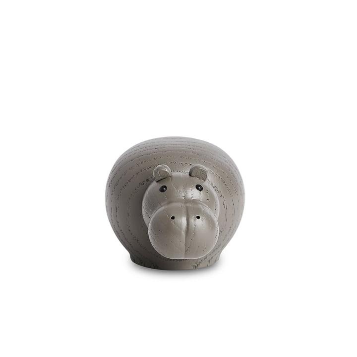 Hibo Nilpferd Mini von Woud in Eiche taupe lackiert