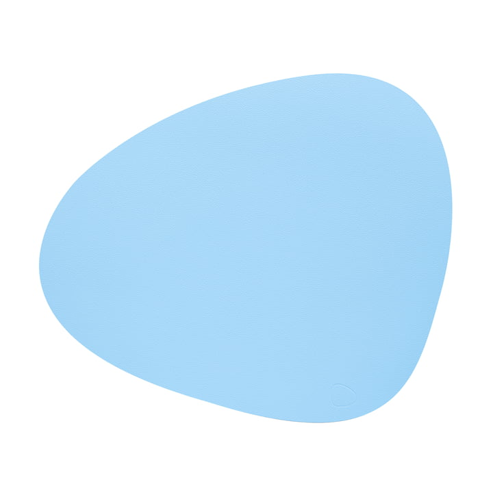 Tischset Curve L in Nupo cool blue von LindDNA