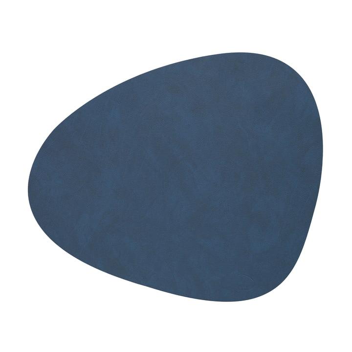 Tischset Curve L in Nupo midnight blue von LindDNA