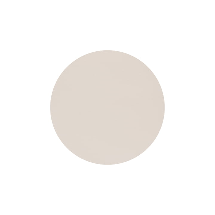 Glasuntersetzer Circle Ø 10 cm von LindDNA in Nupo soft nude