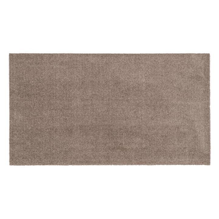 Fußmatte mit einer Größe von  67 x 120 cm von tica copenhagen in Unicolor sand / beige