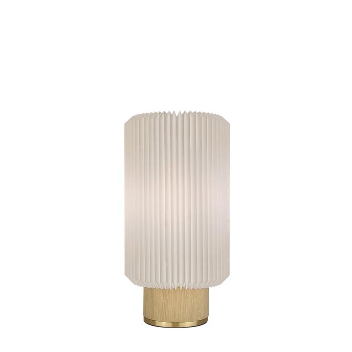 Cylinder Tischleuchte small von Le Klint in Eiche hell