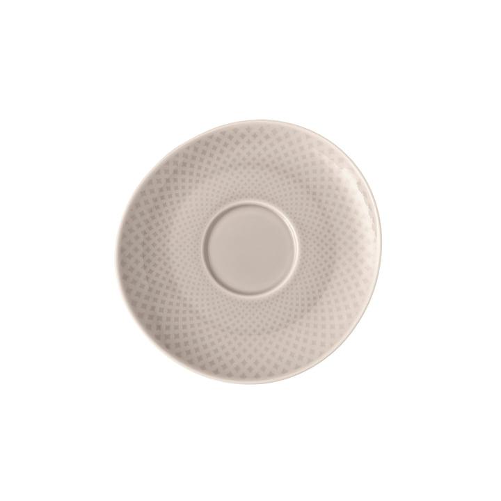 Die Junto Kombi- / Tee- / Kaffee-Untertasse von Rosenthal, Ø 15 cm, soft shell