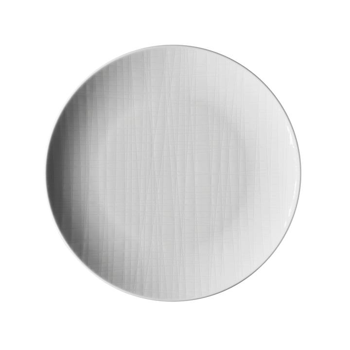 Der Mesh Teller von Rosenthal, Ø 21 cm flach, weiß