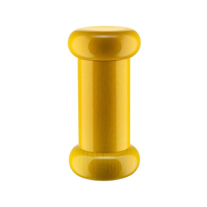 Twergi Salz-/Pfeffer- und Gewürzmühle ES19 von Alessi in knalligem gelb