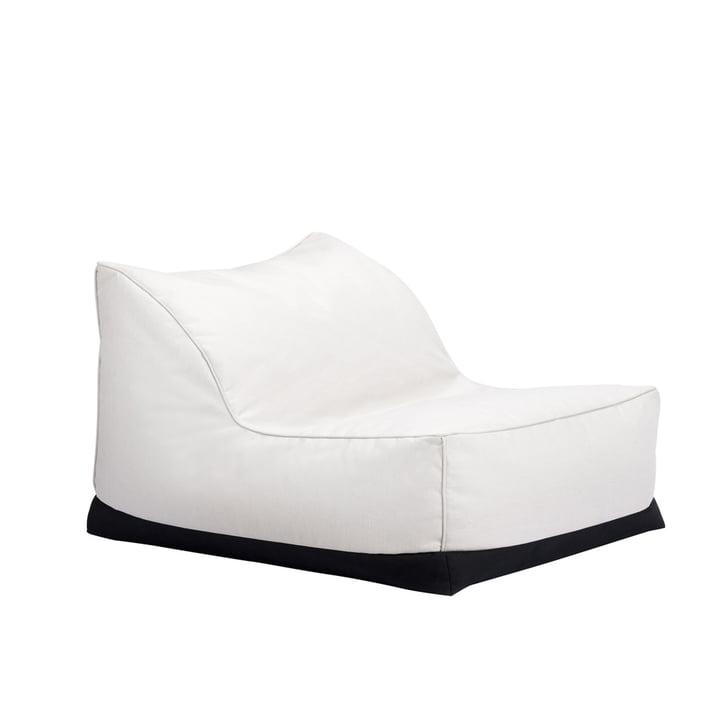 Der Storm Outdoor Lounge Chair von Norr11, 70 x 92 cm, linen chalk