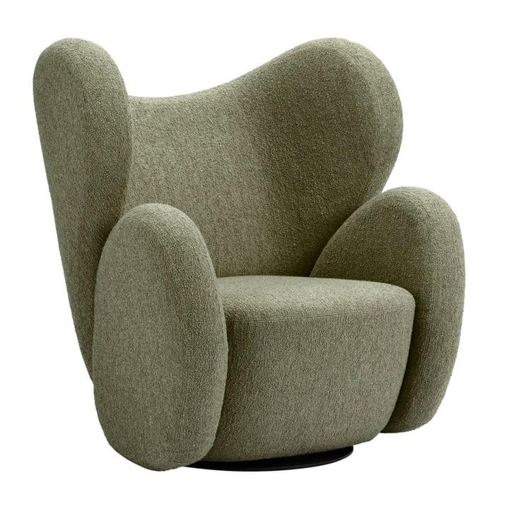 Der Big Big Sessel von Norr11, grün (Barnum - Moss 8)