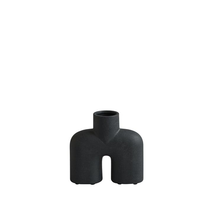 Cobra Vase Uno Mini von 101 Copenhagen in schwarz