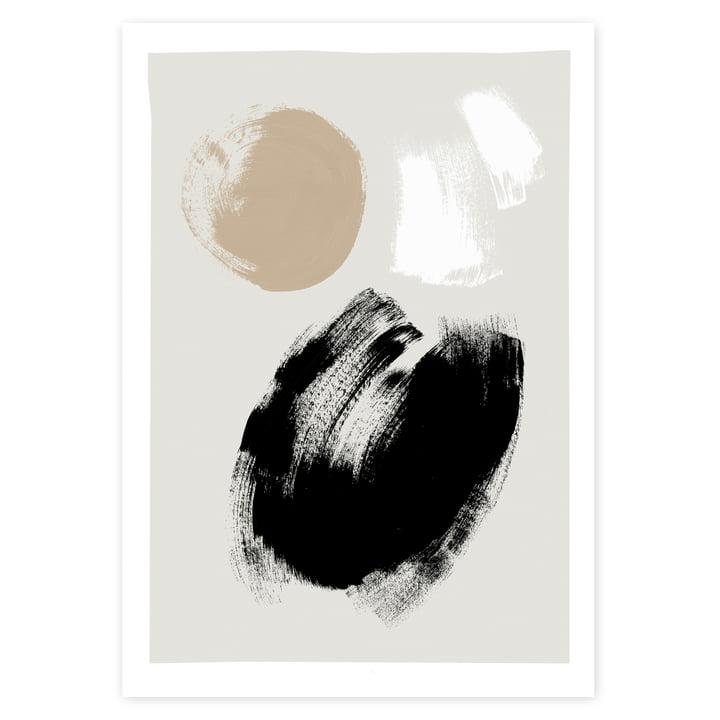 Das Brush Poster von artvoll ohne Rahmen